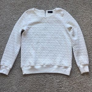 GAP textured sweater with zipper detail, size s